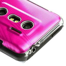 For Sprint HTC EVO 3D Hard Case Phone Cover Hot Pink Cosmo