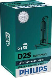 D2S PHILIPS Xenon X-treme Vision HeadLamp 35W P32d-2 gen2 HID 85122XV2C1 x1