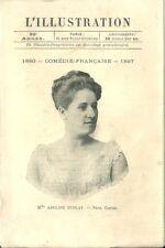 L'Illustration Programme théatre Comédie Française 1897 Frénégonde