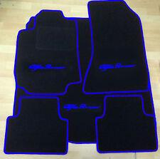 Autoteppich Fußmatten Kofferraum für Alfa Romeo 159 Sportwagon schwarz-blau Neu
