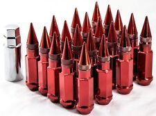 20pcs 12X1.25 Aodhan Spl35 Lug Nuts Red Fits Xxr Esr Esm Str Rota Varrstoen