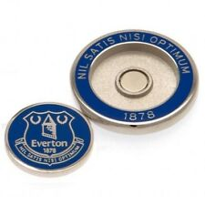 Everton Football Club Crest Golf Ball Marker Duo with Free UK P&P