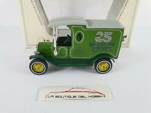 FORD MODEL T 25 YEARS MODELS OF YESTERDAY 1912 MATCHBOX ESCALA 1:35