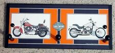 harley davidson motorcycles softail heritage classic wall  towel coat rack