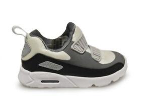 Infants Nike Air Max Tiny 90 (TD) - 881924 005 - Black Grey BNIB NO LID