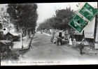 CHATEL-GUYON (63) AUTOBUS au BAR DE LA GARE / Avenue BARADUC animée en 1910