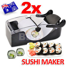 2x Easy Roll Roller Machine Magic Kitchen Gadgets Delicious Sushi Maker