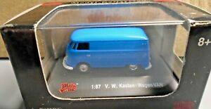 MALIBU INTERNATIONAL 1:87 MINI DIE CAST CAR VW VOLKSWAGEN KASTEN WAGEN VAN RARE!
