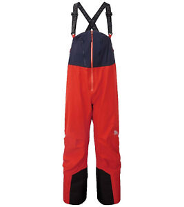 MOUNTAIN EQUIPMENT Havoc Hardshell-Hose Herren Wander-Hose Gore-Tex Hose Rot
