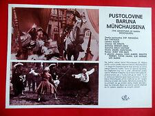 ADVENTURES OF BARON MUNCHAUSEN 1943 GERMAN HANS ALBERS UNIQUE EXYU MOVIE PROGRAM