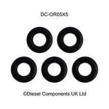 Genuine Bosch Common Rail Piezo Injector Leak Off O Ring / Seal x 5