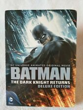(DVD) BATMAN: The Dark Knight Returns Parts 1 & 2 (2013, 2-Disc Set) w/Slipcover
