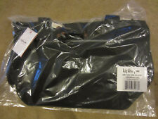 KIPLING HB7450 JERIMIAH Tote Travel Shoulder Handbag Black NWT $104