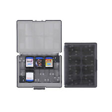 Black 18 in 1 Game Memory Card Case Holder Storages Box for Sony PS Vita PSV B