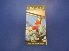 International Travel Brochure, Valais, Suisse, Switzerland Schweiz, Skiing, S639
