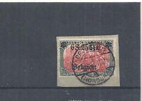 Landespost in Belgien, 1914 Michelnummer: 25 I o, gestempelt o, Katalowert € 70
