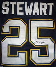 Chris Stewart Signed St Louis Blues Jersey Proof Autograph Saint Stl W/Coa J4D