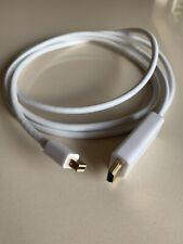 1.8m Mini DisplayPort/Thunderbolt to HDMI Cable Mac to TV Video+Audio [006822]