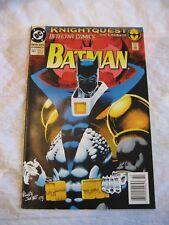 batman, knightquest the crusade #667 vf-nm 1993 dc comics