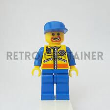 LEGO Minifigures - 1x cty070 - Coast Guard Patroller - City Omino Minifig 4210