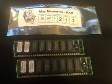 2x 1MB 30-Pin 8-chip Non-Parity 100ns FPM SIMMs MACINTOSH CLASSIC SE Plus Apple