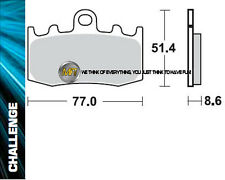 FOR BMW R 1150 GS (Brembo caliper)  2002 02 FRONT SINTERED BRAKE PADS BRAKING ME