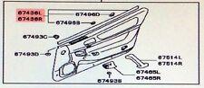 OE INNER Door Belt Weatherstrips Set of 2 Both Right & Left 3000GT  Stealth