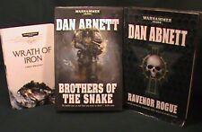 3 Warhammer 40,000 40K Space Marines Dan Abnett Chris Wraight 2hb 1sc