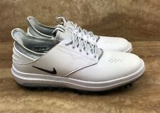 Nike Air Zoom Direct Golf Shoes Cleats White Silver
