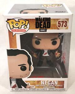 Funko Television POP 573 The Walking Dead NEGAN Vinyl Figure, New w/ BOX DAMAGE