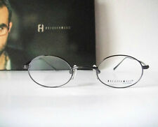Freudenhaus  Small lens 37-20 135 Poe Black Eyeglass Frame Specs Mens Glasses