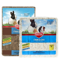 Kaytee Clean and Cozy WHITE / Natural Super Absorbent Rabbit, Gerbil Bedding