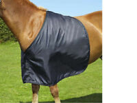 NEW  Horse / Pony Anti-Rub Satin Bib Vest For Under Rugs - FREE DELIVERY