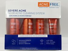 Severe Acne ~ 24 Hr ~ 3 Step Clearing System ~ New ~ Exp: 09/21
