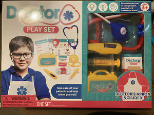 Doctor Play Set for Kids (10 pieces)