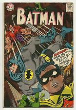 Batman 1967 #196 Very Good/Fine