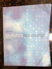 Statistics Courses STA 2122/3123 by James McClave and Terry Sincich 12th edition