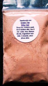 Mineral makeup~1oz~Sweetscents~Loose Powder~Mica~SILKY TINTED VEIL~Warmth~Blush