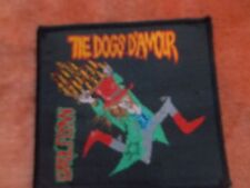 "1 DOGS D""AMOUR ERROL FLYNN -  MATERIAL PATCH - APPROX 10 X 9   UNUSED"