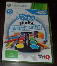 Xbox 360. uDraw studio Instant Artist (PAL AUS/EUR)