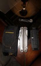 Leatherman Charge TTI Titanium multi tool with deluxe nylon sheath