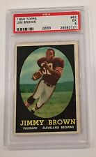 1958 Topps Football Jim Brown ROOKIE RC #62 PSA 5 EX HOFer