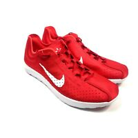 Nike Mayfly Lite BR Mens Size 9.5 University Red / White Shoes 898027-600