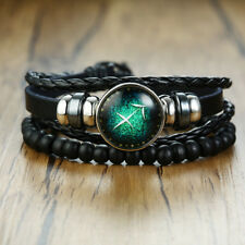 Sagittarius Constellation Beaded Bracelet Women Men Wristband Horoscope Jewelry