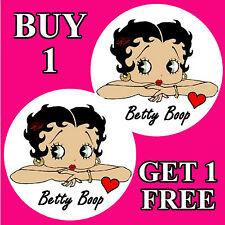 Betty Boop-Fun coche / la ventana de Sticker + 1 Gratis-Nueva-Regalo / b/day / Navidad