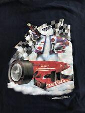 Vintage 1998 Polar Bear Racing Racer Coca-Cola T-Shirt Coke Logo Medium