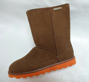 BEARPAW womens Cold Weather Winter 1437W PAYTON Sheep Fur lined boots 10 NEW