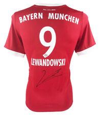 Autographed Robert Lewandowski Shirt - FC Bayern Munich Icon +COA