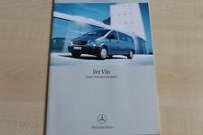 160773) Mercedes Vito - Kombi & Personentransport - Prospekt 08/2003