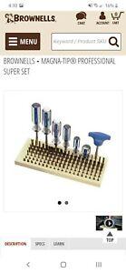 brownells magna tip screwdriver set